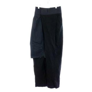 ユリウス(JULIUS)のユリウス CO/MO TYPEWRITER CLOTH パンツ 3 L 黒(スラックス)