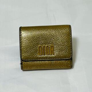 ディオール(Dior)のディオール Dior ミニウォレット 財布 三つ折り(財布)