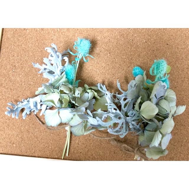 ナチュラルドライフラワー ミニスワッグ 0818-1 ハンドメイドのフラワー/ガーデン(ドライフラワー)の商品写真