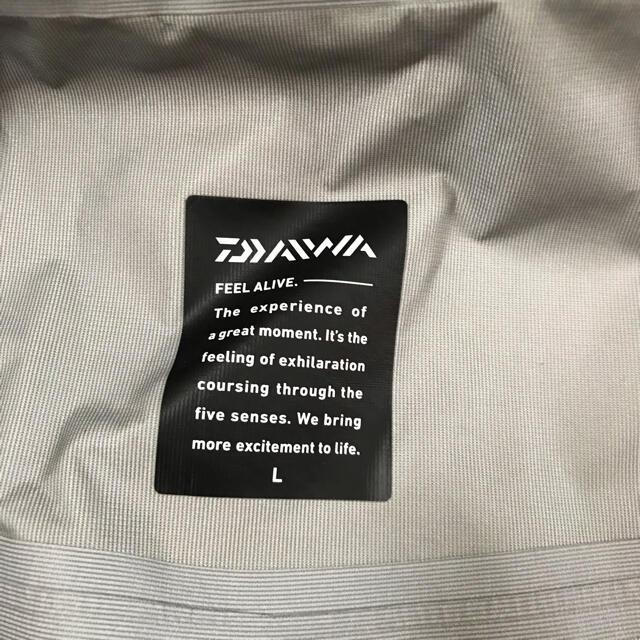 DAIWA(ダイワ)のダイワ レインマックス ハイパーレイン DR-3504 レインウェア(Lサイズ) スポーツ/アウトドアのフィッシング(ウエア)の商品写真