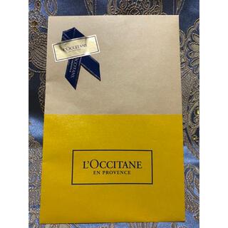 ロクシタン(L'OCCITANE)の大ギフト【ロクシタン】紙袋★ショッパー★ショップ袋(ショップ袋)