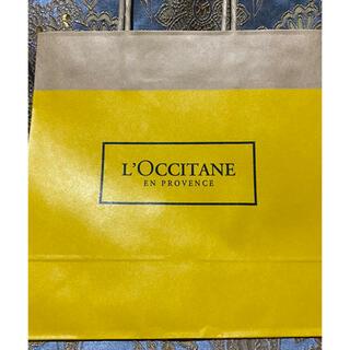 ロクシタン(L'OCCITANE)の小【ロクシタン】紙袋★ショッパー★ショップ袋(ショップ袋)