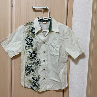 マンゴ(MANGO)のレディース  かりゆし ウェア 半袖シャツ 琉球の里(シャツ/ブラウス(半袖/袖なし))