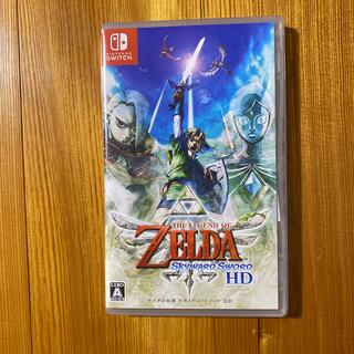 ニンテンドースイッチ(Nintendo Switch)の新品未開封 ゼルダの伝説 スカイウォードソード HD Switch (家庭用ゲームソフト)