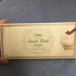 サボン(SABON)の♡バスオイル バー  バニラココナッツ♡(バスグッズ)