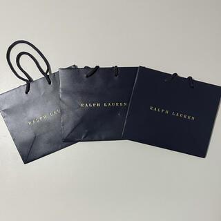 ラルフローレン(Ralph Lauren)の新品☆ラルフローレン☆紙袋セット(ショップ袋)