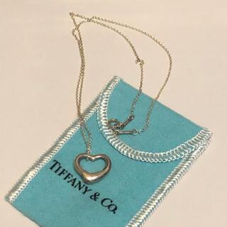 ティファニー(Tiffany & Co.)のオープンハートのネックレス(ネックレス)