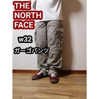 THE NORTH FACE - ノースフェイス カーゴパンツ アウトドアパンツ ミリタリー ベージュ w32