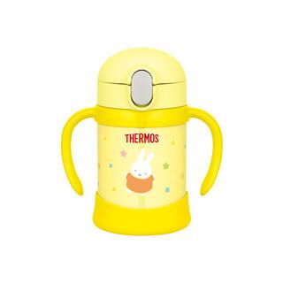 サーモス(THERMOS)のサーモス まほうびんのベビーストローマグ ミッフィー(水筒)