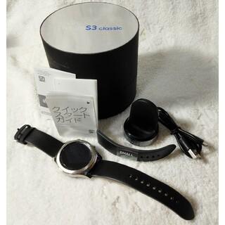 ギャラクシー(Galaxy)のGalaxy Gear S3 classic サムスン スマートウォッチ 美品(腕時計(デジタル))