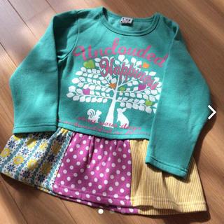 シマムラ(しまむら)の100㎝☆ワンピトレーナー(Tシャツ/カットソー)