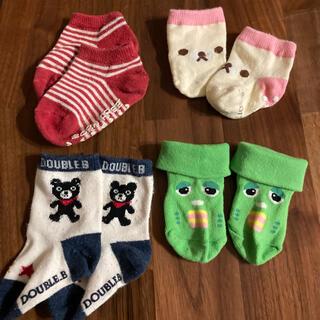 ダブルビー(DOUBLE.B)のベビー 靴下 新生児から6ヶ月頃 50〜70(靴下/タイツ)