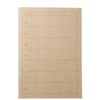 ムジルシリョウヒン(MUJI (無印良品))のMUJI 無印良品 スケジュール帳 ノート ウィークリーA5 32枚(カレンダー/スケジュール)
