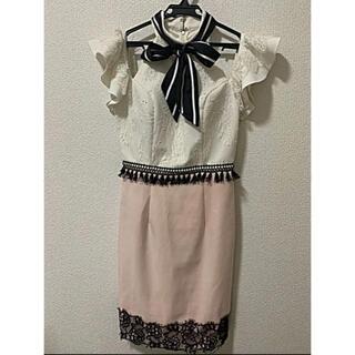 Daisy - 美品☆DAISY デイジー キャバ ドレス ワンピース ピンク リボン M