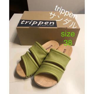 トリッペン(trippen)のtrippen サンダル モデル Saturn サイズ 38/レディース 美品(サンダル)