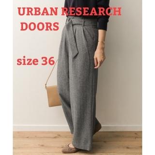 ドアーズ(DOORS / URBAN RESEARCH)の専用出品 アーバンリサーチドアーズ ウールヘリンボンワイドパンツ(カジュアルパンツ)