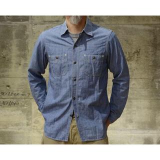 """フリーホイーラーズ(FREEWHEELERS)のFREEWHEELERS ワークシャツ """"Neal""""  インディゴ・シャンブレー(シャツ)"""
