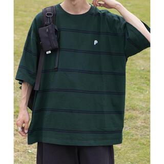 ウィゴー(WEGO)のPerushu レトロボーダーTシャツ(Tシャツ/カットソー(半袖/袖なし))