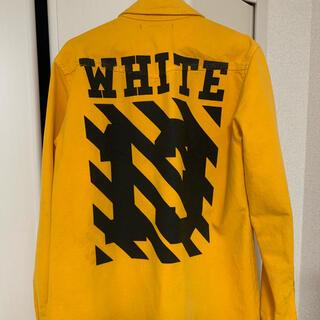 オフホワイト(OFF-WHITE)のOFF-WHITE denim jacket(Gジャン/デニムジャケット)