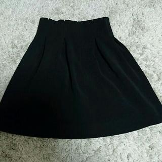 マーキュリーデュオ(MERCURYDUO)のハイウエストの黒スカート!✨値下げ!(ミニスカート)
