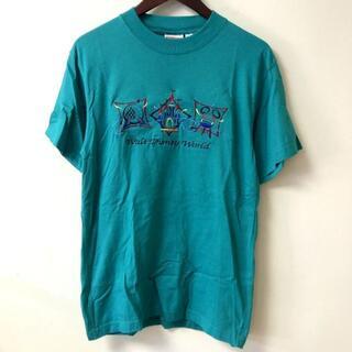 ミッキーマウス(ミッキーマウス)のディズニー Mickey.INC ミッキー刺繍入り 半袖Tシャツ Sサイズ(Tシャツ/カットソー(半袖/袖なし))