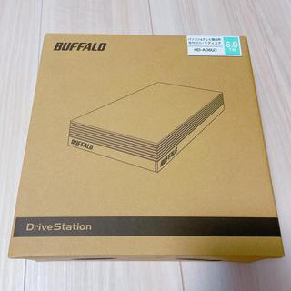 バッファロー(Buffalo)のBUFFALO外付けハードディスク6TB HDD(その他)