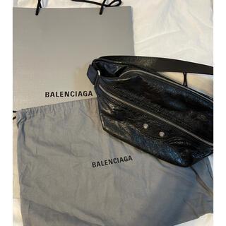 バレンシアガ(Balenciaga)のバレンシアガ ボディバッグ メンズ  ブラック 新品未使用(ボディバッグ/ウエストポーチ)