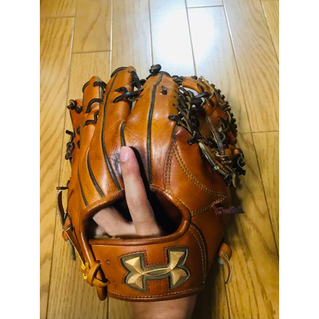 UNDER ARMOUR(アンダーアーマー)のアンダーアーマー  硬式用グローブ(外野用) スポーツ/アウトドアの野球(グローブ)の商品写真