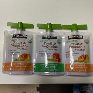 コストコ(コストコ)のコストコ KIRKLAND  Fruit&Vegetable pouches(その他)