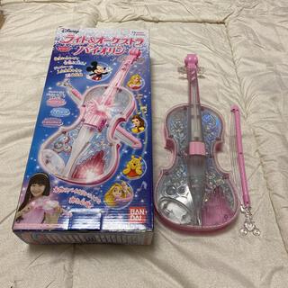 バンダイ(BANDAI)のバンダイ ディズニーライト&オーケストラバイオリン(楽器のおもちゃ)
