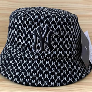 Supreme - 新品 ブラック MLB  ニューエラ 帽子 バケットハット 韓国ファッション
