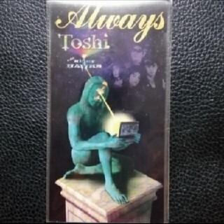 【送料無料】8cm CD ♪ Toshi ♪Always♪(ポップス/ロック(邦楽))