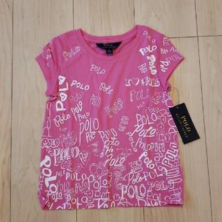 ラルフローレン(Ralph Lauren)の【新品】ラルフローレン×Tシャツ ピンク 5T 110cm(Tシャツ/カットソー)