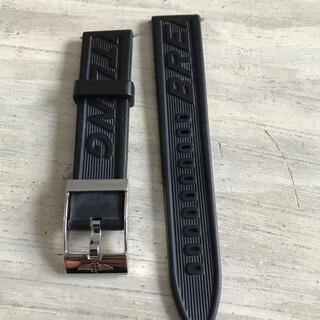 ブライトリング(BREITLING)のブライトリング 純正ラバーベルト&尾錠 黒 20mm(ラバーベルト)