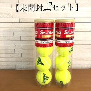 【未開封】硬式テニスボール 2ボトル