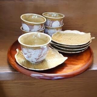湯呑 茶托小皿 5客(食器)