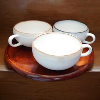 アイジ様専用  スープカップ3つ(食器)