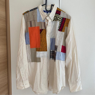 ジュンヤワタナベコムデギャルソン(JUNYA WATANABE COMME des GARCONS)の美品 コムデギャルソン ジュンヤワタナベ シャツ Mサイズ メンズ(シャツ)