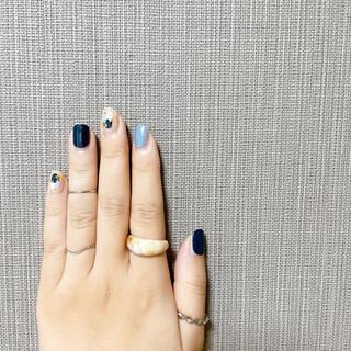 リング レディース 韓国 樹脂 レジン アクセサリー ベッコウ おしゃれ 指輪(リング(指輪))