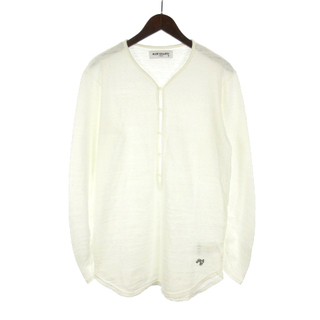 ルードギャラリー(RUDE GALLERY)のルードギャラリー 19SS Tシャツ 長袖 ギャザースリーブ 刺繍 3 ホワイト(Tシャツ/カットソー(七分/長袖))
