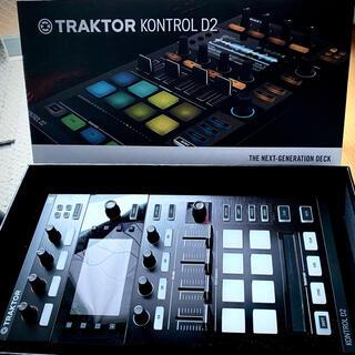 TRAKTOR KONTROL D2 : NI DJコントローラ ほぼ新品(DJコントローラー)