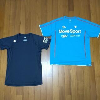デサント(DESCENTE)のデサント ムーブスポーツ Tシャツ & ATH Tシャツ 2着セット Lサイズ(ウェア)