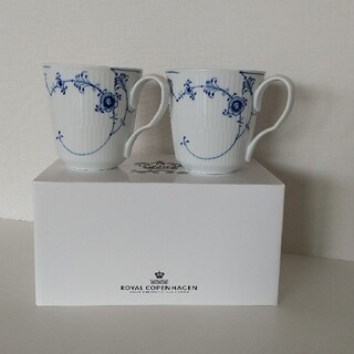 ROYAL COPENHAGEN - ロイヤルコペンハーゲン ペアマグカップ