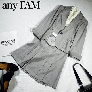 エニィファム(anyFAM)の【美品】エニィファム★any FAM★スカートスーツ ブラウス 3点セット(スーツ)