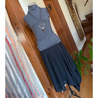 アンティカ(antiqua)の♦︎アンティカ♦︎アシンメトリースカート 変形スカート(ひざ丈スカート)
