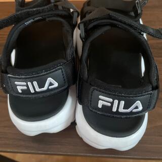 フィラ(FILA)のFILA サンダル 23.0(サンダル)