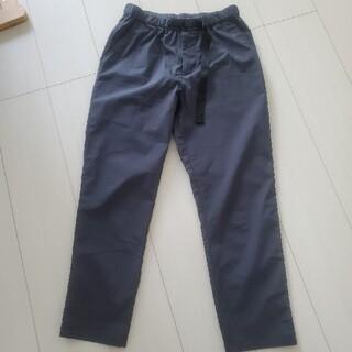 ムジルシリョウヒン(MUJI (無印良品))のストレッチ高密度織りクロップドパンツ(クロップドパンツ)
