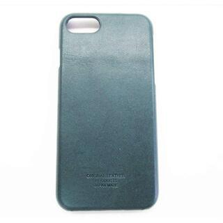 栃木レザー - 【新品】栃木レザー iPhone X iPhone XS ケース ネイビー 本革