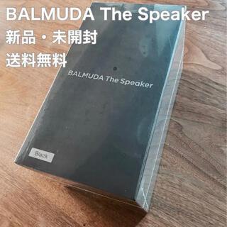 バルミューダ(BALMUDA)のBALMUDA THE Speaker  M01A-BK 新品未使用(スピーカー)