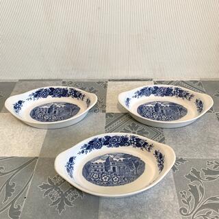 ニッコー(NIKKO)のNIKKO昭和レトロヴィンテージDOUBLE PHOENIXグラタン皿3点(食器)
